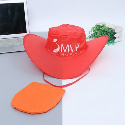 Quality Guarantee Nylon Folding Pocket Hat
