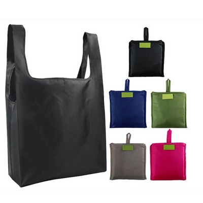 New Recycle Eco Friendly Wholesale Polyester Foldable Shopping Bag Reusable Grocery bags