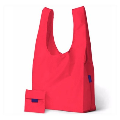 Factory Wholesale Cheap 190T Polyester Folding Bag With Logo Printing